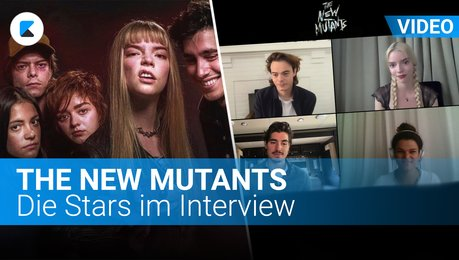 The New Mutants: Die Stars im Interview Poster
