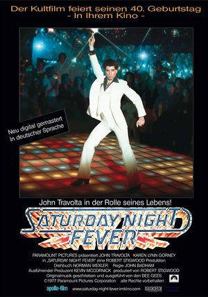 Saturday Night Fever - Nur Samstag Nacht Poster