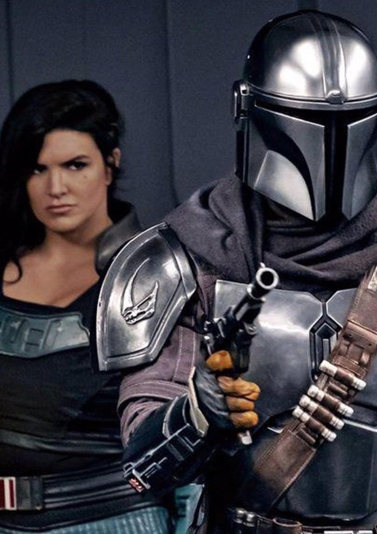 """Streit um """"The Mandalorian""""-Star: Fans fordern die Entlassung von Gina Carano"""
