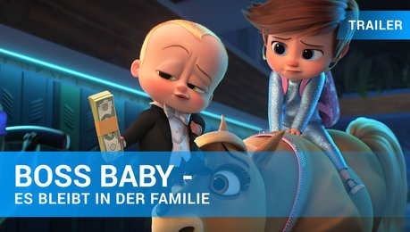 Boss Baby 2 - Trailer Deutsch Poster