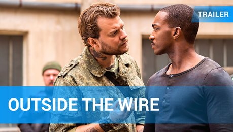 Outside the Wire - Trailer Deutsch Poster