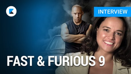 Fast & Furious 9: Michelle Rodriguez im Interview Poster